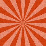 Sunburst orange tone Pattern background. Royalty Free Stock Image