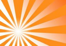 Sunburst Orange Yellow Abstract Background Royalty Free Stock Images