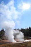 Sunburst over Yellowstone Stock Images