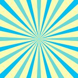 Sunburst with Pale Pastel Color for Rays and Beams. Multi Tone Explosion with Texture, Depth and Perspective Lines royalty free illustration