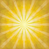 Sunburst Pattern. Radial background. Stock Image