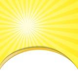 Sunburst Pattern. Radial background. Stock Image