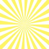 Sunburst pattern, sunrise background, yellow retro round lines - vector illustration. Sun rays background vector eps10. stock illustration