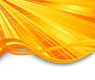 Sunburst ray abstract banner Royalty Free Stock Photos
