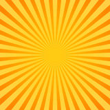 Sunburst, Rays, Beams. Glowing, radiant backdrop Stock Image