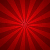 Sunburst red tone vintage  Pattern background. Vector illustrati Royalty Free Stock Photo