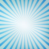 Sunburst retro. A blue sunburst retro Royalty Free Stock Photo