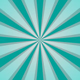 Sunburst Retro with lines in vintage style. Vector illustration Royalty Free Stock Photo