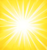 Sunburst Shinny Vector Background. Royalty Free Stock Photography