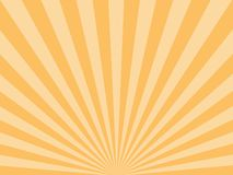 Sunburst, starburst background, converging lines. Vector illustration. Vector illustration Sunburst background starburst royalty free illustration