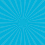 Sunburst starburst with ray of light. Blue color. Template Abstract background. Flat design. Royalty Free Stock Photos