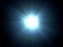 Sunburst subaquático Fotografia de Stock Royalty Free