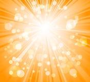 Sunburst. Sunbeam lights - abstract background sunburst Royalty Free Stock Images