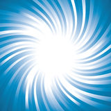 Sunburst vector. With blue color Royalty Free Stock Photos