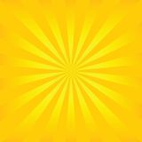 Sunburst vector Royalty Free Stock Photography
