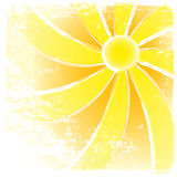 Sunburst vector And Abstract Backgrounds. Stock Images