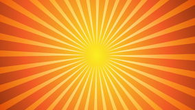 Sunburst Vector Back Stock Image