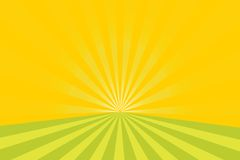 Sunburst vector background Royalty Free Stock Photography