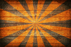 Sunburst on Wood Royalty Free Stock Photo