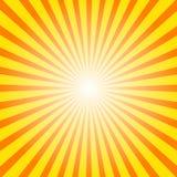 Sunburstbakgrund Arkivbilder