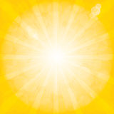Sunburstmodell. Radiell bakgrund. fotografering för bildbyråer