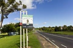 Sunbury, Geburtsort der Asche Stockfoto