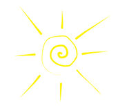 Sunce stock illustratie