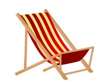 Sunchair Royalty Free Stock Image