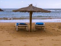 Sunchair fotografia de stock