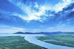 Suncheon-Bucht 1 stockfotos