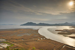Suncheon-Bucht HDR Lizenzfreies Stockbild