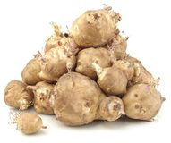Sunchoke vegetable Stock Image