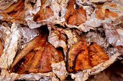 Suncoast BBQ Bash - Event Food BBQ Smoked Mullet Royalty Free Stock Image