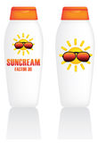 Suncream Royalty Free Stock Photo