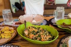 Sund asiatisk mat i Indonesien Royaltyfria Foton
