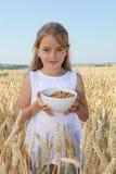sund barnmattillväxt Royaltyfria Bilder