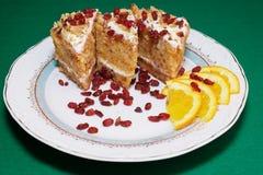 sund cake arkivfoto