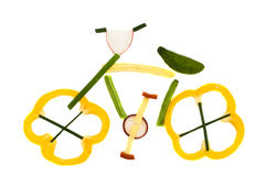 sund cykel Royaltyfri Foto
