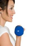 sund fit flicka Fotografering för Bildbyråer