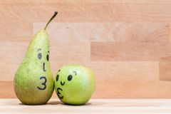 Sund frukt för förälskelse Royaltyfri Foto