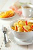 Sund frukt- frukost Fotografering för Bildbyråer