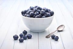 Sund fruktbakgrund för blåbär Arkivfoto