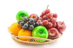 Sund fruktkorg Royaltyfri Bild