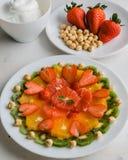 Sund fruktplatta Royaltyfria Foton