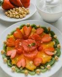Sund fruktplatta Royaltyfria Bilder