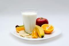 Sund fruktplatta Arkivfoton