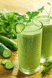 sund grönsak för drink royaltyfria bilder