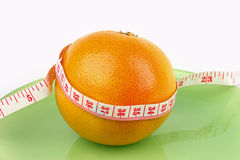 Sund grapefrukt Royaltyfria Bilder