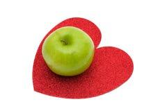 sund hjärta Arkivfoton