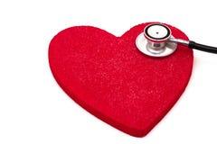 sund hjärta Arkivfoto